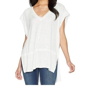 Nwt Free People Voyage Draped Tiered T-Shirt